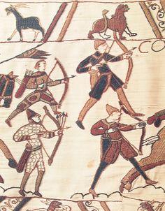 Bayeux tapestry archers