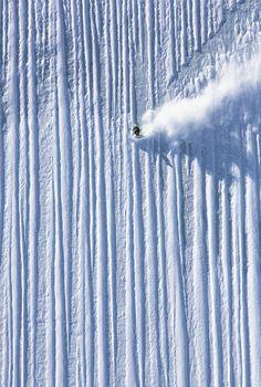 Extreme Skiing via GrindTV