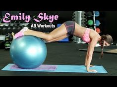 EMILY SKYE - Fitness Model: AB Workouts for Women - Moderate to Advanced @ Australia - YouTube