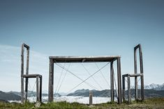 Kunst am Berg auf der Schmittenhöhe in Zell am See. Zell Am See, Marina Bay Sands, Arch, Outdoor Structures, Building, Travel, Kaprun, Mountain Landscape, Kunst