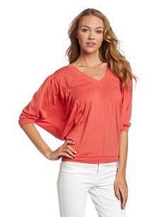 41b0e7833146d Fresh Laundry Women is Rouche Sleeve Shirt