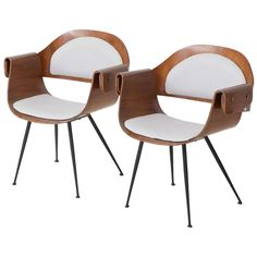 Carlo Ratti Pair of Armchairs | From a unique collection of antique and modern armchairs at http://www.1stdibs.com/furniture/seating/armchairs/