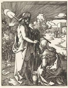 Christus verschijnt aan Maria Magdalena, Albrecht D�rer, 1510