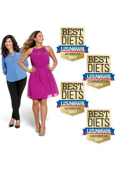 No fads here, just fab results year after year! Our program is ranked a Top 3 U.S. News and World Report Best Weight-Loss Diet for the 7th year IN A ROW!