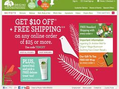 My Favorite Place for Make-up and Cosmetics #Origins - Great #deals today!