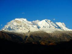 Huascarán visto do Campo Santo - Peru