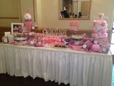 Communion Candy Table