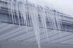 How Ice Dams Can Affect Your Roof Ice Dam Removal, Frozen Rain, Ridge Vent, Ice Dams, Frozen Pipes, Local Contractors, Through The Roof, Roof Repair, Winter House