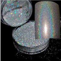 Wish | 4G/Box Holographic Laser Nail Glitter Powder Rainbow Chrome Manicure Pigments Nail Art Decorations (Size: One Size)
