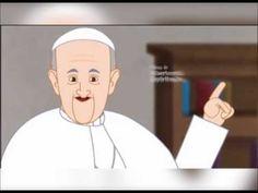 Vídeo animado del Papa Francisco sobre el año de la misericordia. La misericordia es la disposición a compadecerse de los trabajos y miserias ajenas. Se manifiesta en amabilidad, asistencia al necesitado, especialmente en el perdón y la reconciliación. Es más que un sentimiento de simpatía, es una práctica. En el cristianismo es uno de los principales atributos divinos. #animación. #niños          #misericordia Papa Francisco, Year Of Mercy, Religion Catolica, Catholic, Youtube, Family Guy, Faith, Fictional Characters, Education