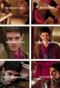 This is the first time I ever really saw this as believable. I guess there are situations where it is applicable. Sadly Merlin has proved that again and again. Poor love!