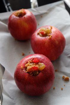 Pommes au four avant cuisson