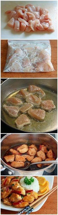 Chinese Orange Chicken Recipe