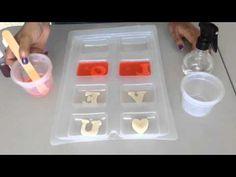 Tutorial: Cómo hacer jabones para babyshower (patitos) - YouTube