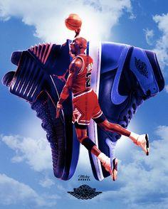 Air Jordan - I - XXXII NBA Art #wmcskills