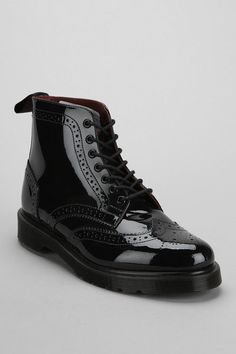 Dr. Martens Affleck Brogue Patent Leather Boot