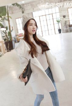 Leather Lace Up Boots, Black Leather, Stylenanda, Fitted Bodice, Loose Fit, Korean Fashion, Bell Sleeve Top, Chic, Long Sleeve