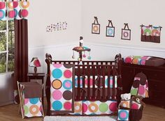 9-Piece Crib Bedding Set Modern Bedroom Decor #bedding