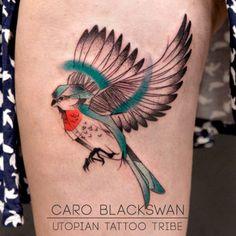 swallow_tattoo Caro Blackswan en Epaña en Utopian Tattoo Tribe