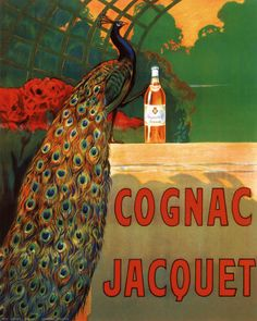 Cognac and Peacock