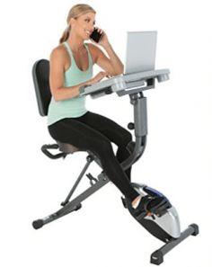 Exerpeutic WorkFit 1000 Fully Adjustable Desk Folding Exercise Bike with Pulse - Mejaku Folding Exercise Bike, Best Recumbent Exercise Bike, Best Exercise Bike, Upright Exercise Bike, Upright Bike, Exercise Bike Reviews, Desk Workout, Workout Gear, Free Workout