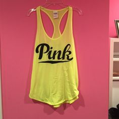 FINAL PRICEPINK Victoria's Secret ultimate tank Bought NWT from a posh user and wore it one time, doesn't really fit the way I thought it would. Definitely true to size. PINK Victoria's Secret Tops Tank Tops