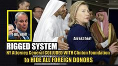 """The Hillary Clinton #RiggesdSystem of """"special favors"""" rolls on. Not only…"""