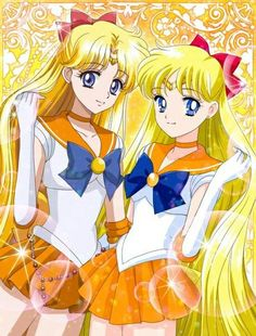 Old vs New Sailor Venus Venus, Moon Art, Sailor Venus, Sailor Moon Manga, Art, Anime, Cartoon, Magical Girl
