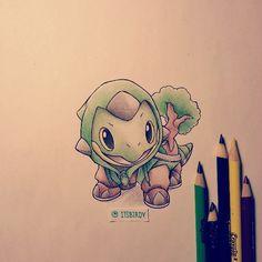 Más Pokémon adorables que se visten de sus evoluciones (parte 2).