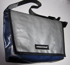 Authentic Freitag Messenger Bag Made of Used Truck Tarphttp://nomadcreativenomad.storenvy.com/
