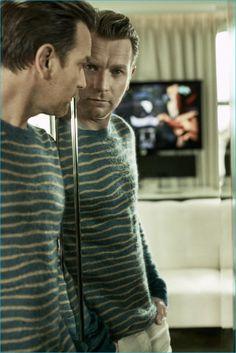 Ewan McGregor photographed by Hunter & Gatti for GQ Germany.