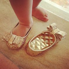 Swarovski Baby Shoes for my future little girl <3