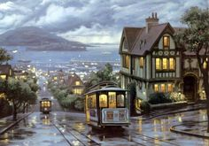 """An Evening Journey""-Evgeny Lushpin (12 pieces)"