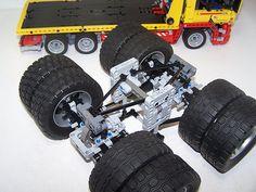 Posted Image Lego Minecraft, Lego Moc, Lego Technic Truck, Lego Truck, Lego Batman, Lego Crane, Lego Gears, Lego Ship, Cool Lego Creations