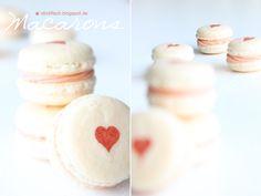 Macarons mit Herz