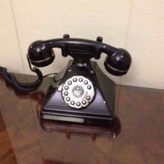 Antique phone in the Yale Club NYC
