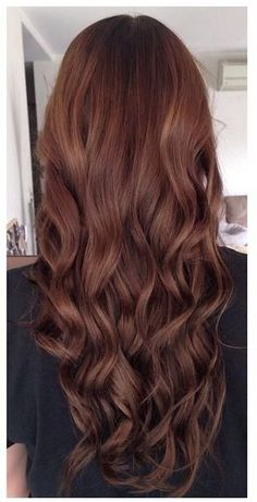 Really pretty brown - - Hair Colors Blonde Ideen - Cheveux Femme Redish Brown Hair, Red Brown Hair Color, Brown Hair Shades, Hair Color Auburn, Brown Hair With Highlights, Light Brown Hair, Color Red, Brown Auburn Hair, Dark Red Hair With Brown