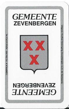 Kwartetspel Gemeente Zevenbergen