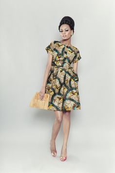 Great modern take on traditional print. (from Ghanaian boutique Labyrinth)