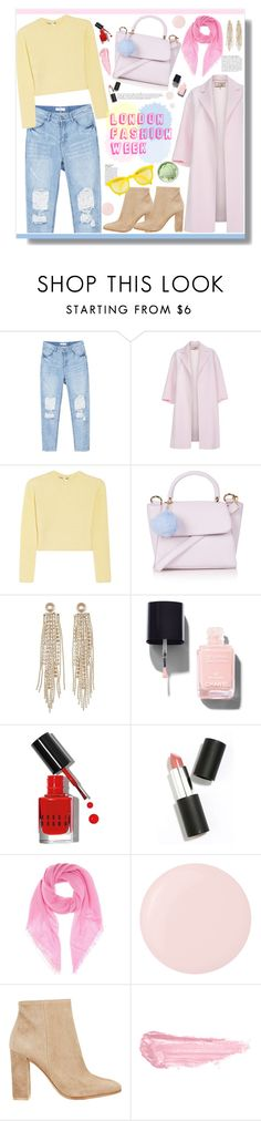 """""""No 314:Pack and Go: London"""" by lovepastel ❤ liked on Polyvore featuring Paul Smith, Miu Miu, Topshop, Charlotte Russe, Chanel, Bobbi Brown Cosmetics, Sigma Beauty, Anja, Jardin des Orangers and Deborah Lippmann"""