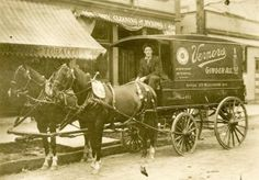 Vernors to Host its 150th Anniversary Celebration at Detroit Historical Museum -- (Delivery wagon around 1909).