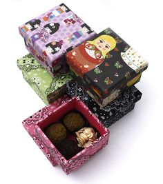 Brigaderia Gula, Candy Party, Gift Wrapping, My Love, Box, Sweet, Gifts, Trick Or Treat, Favors