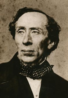 hans christian andersen. The famous writer, wrote poems and fairy tails. His most famous work is probably the story of the ugly duck.