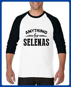 Ugo Anything for Selenas Elegant Movies Gift 4 Xmas Birthday Mothers Day Unisex Raglan Sleeve Baseball T-Shirt - Sports shirts (*Amazon Partner-Link)