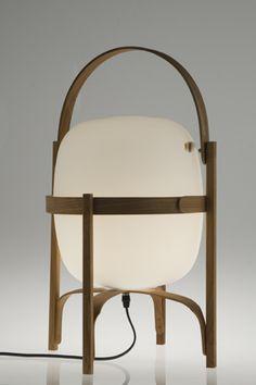 CESTA table lamp. Santa - or the smaller version Cesista