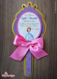 invitacion de fiesta princesa sofia