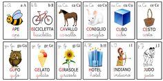 Carte tematiche per bambini
