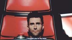 "The Voice quotes: ""I hugged you in my mind."" - Adam Levine #StuffCoachesSay #TheVoice"