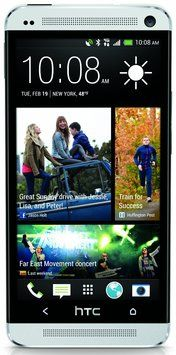 HTC HTC One M7 Factory Unlocked Cellphone, 32GB, Silver
