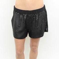 Elizabeth and James Pants - Elizabeth and James sequin shorts